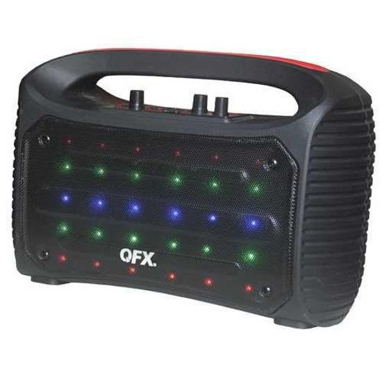 "Qfx Pbx-44 4"" Portable Bluetooth Stereo Speaker"
