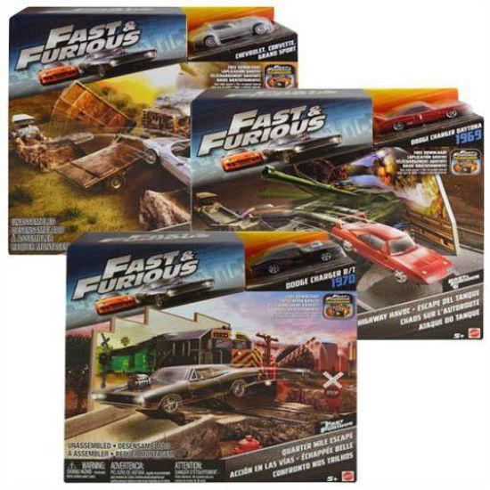 Fast & Furious Street Scenes Play Set - Asst