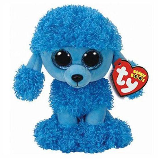 Ty Beanie Boos Plush - Blue Poodle