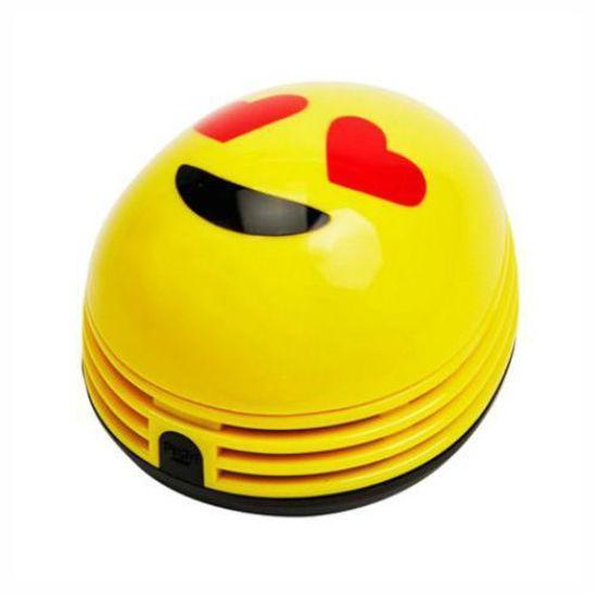 As Seen On Tv Emoji Crumby Mini Vacuum - Heart