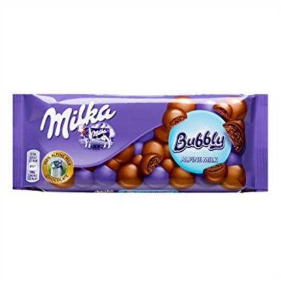 Milka Bubbly Milk Chocolate - 90G
