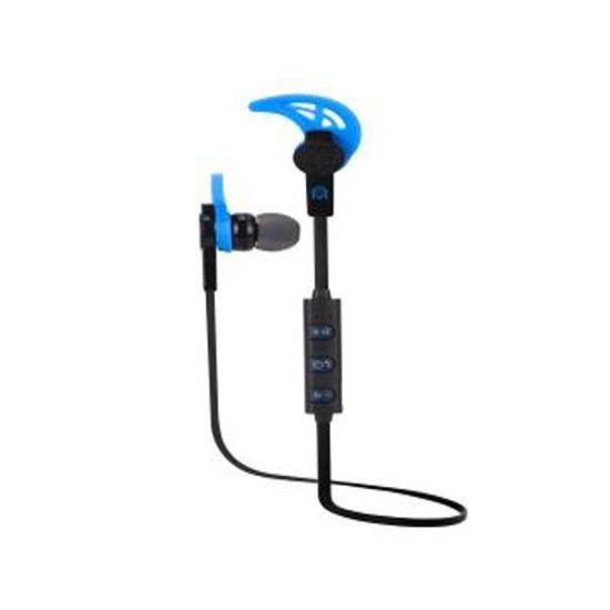 Mental Beats Net Sweatproof Bluetooth Earbuds W/Mic (Bk/Bl)