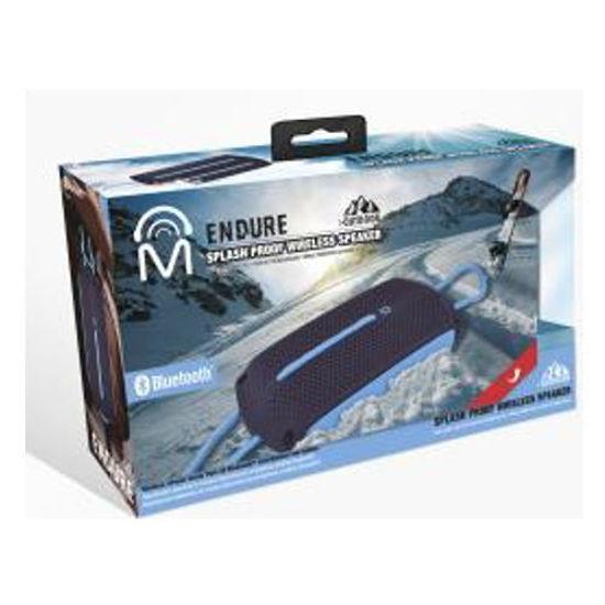 Mental Beats Endure Splashproof Bluetooth Speaker (Bk/Bl)