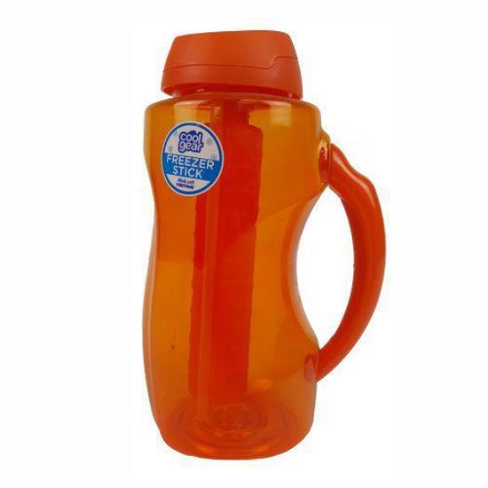 Cool Gear 1.86L Watter Bottle W/ Freezer Stick-Assorted