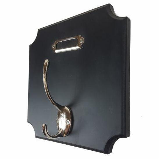 3Pc Decorative Hook Set- Black