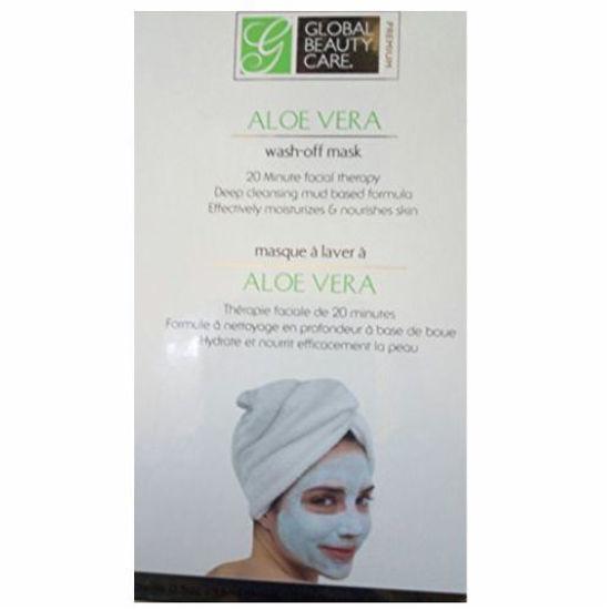 Global Beauty Care Facial Mask- Aloe Vera 2Pk