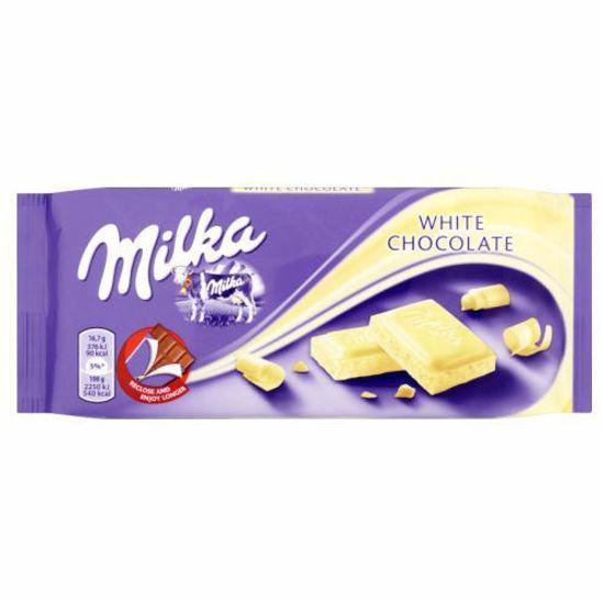 Milka White Chocolate - 100G
