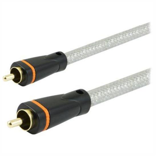 Ge 33535 6Ft Pro Digital Audio Spdif & Subwoofer Cable