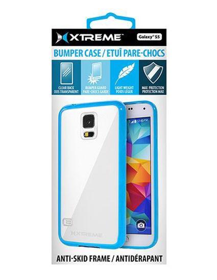 Xtreme Bumper Case F/Galaxy S5 (Blue)