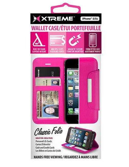 Xtreme Bumper Case F/Iphone 5/5S/Se (Pink)