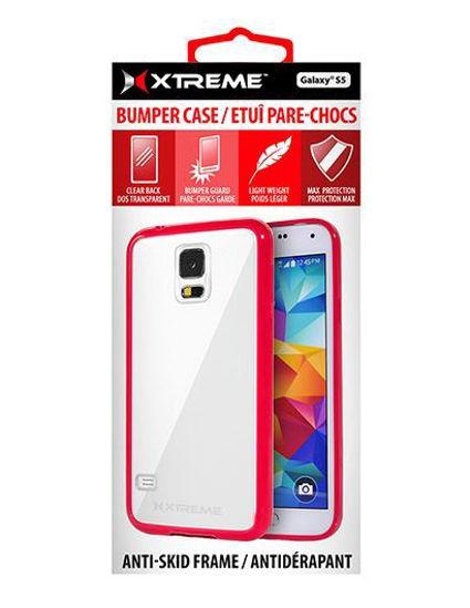 Xtreme Bumper Case F/Galaxy S5 (Red)