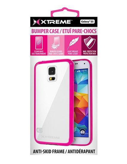 Xtreme Bumper Case F/Galaxy S4 (Pink)