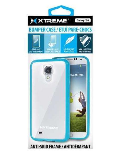 Xtreme Bumper Case F/Galaxy S4 (Blue)