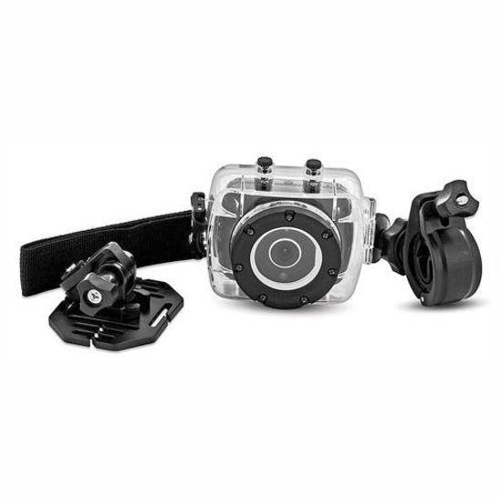 Sharper Image 1080P Hd Action Camera W/Waterproof Case -Ylw