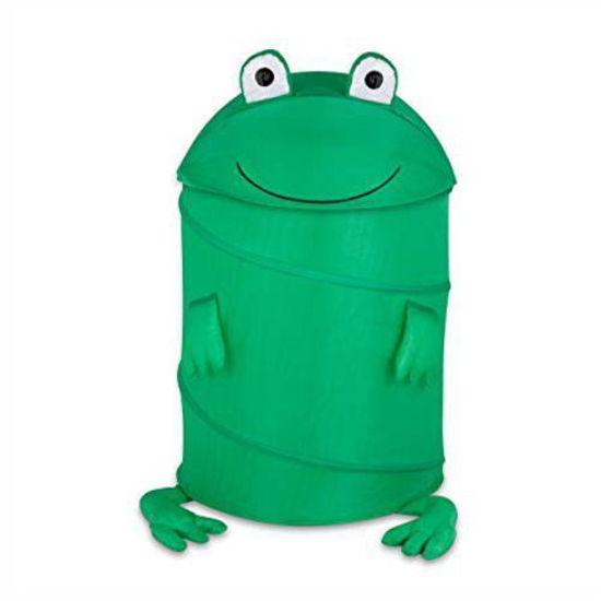 """Kids Pop Up 20"""" Laundry Hamper - Frog"""