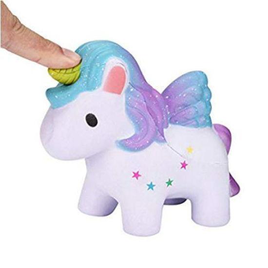 Unicorn Squeezem Toy