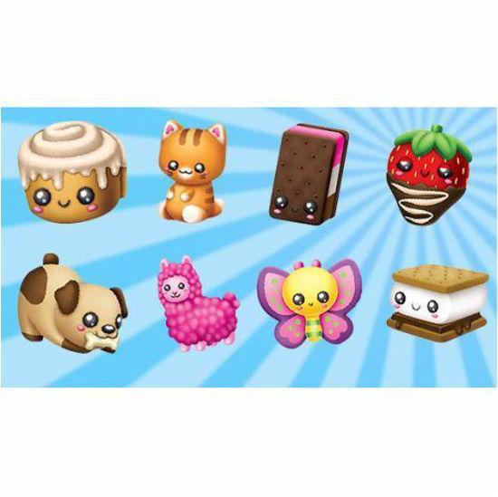 Squeezems Super Slow Rising Soft Toys - Asst