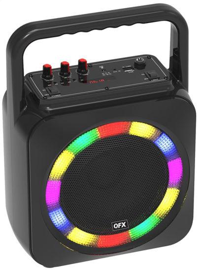 """Qfx Bt-2002 6.5"""" Portable Party Speaker (Black)"""