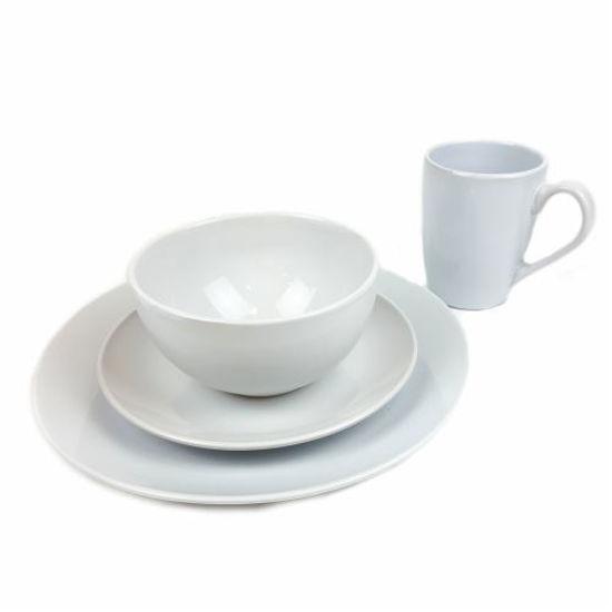 Simply White Stoneware Set - 16Pcs