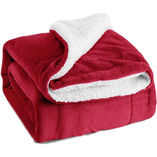 """Fleece Throw Blanket 50""""X60"""" Asst Colours"""