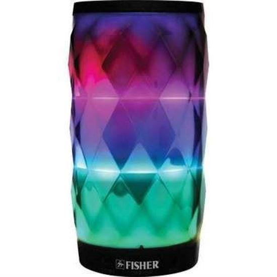 Fisher Fbt360 Krystal Bluetooth Speaker W/Light Fx