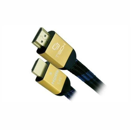 Cj Tech Premium Braided Hdmi 2.0 Cable - 12Ft