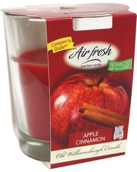 Air Fresh Scented Candle 3Oz - Apple Cinnamon