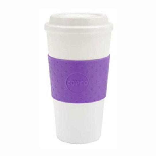 Copco Double Wall Hot Beverage Cup 16Oz - Purple