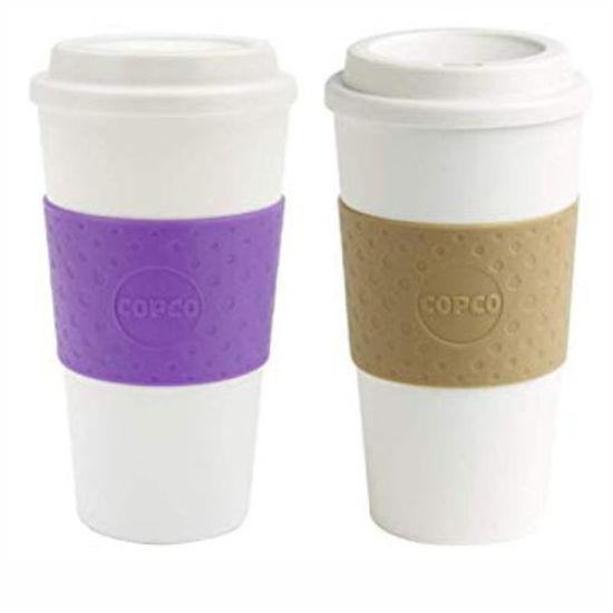 Copco Double Wall Hot Beverage Cup 16Oz-Assrt
