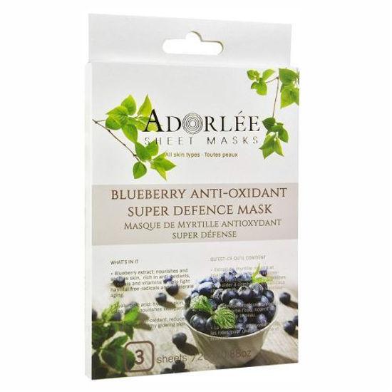 Adorlee Blueberry Anti-Oxidant Mask