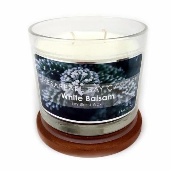 Soy Base Candle White Balsam 11 Oz