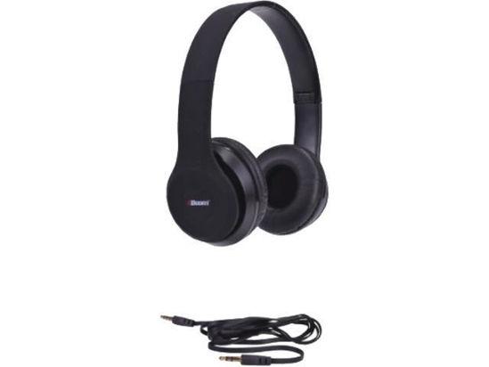 2Boom Spin Master Wired Dj Headphones W/Mic (Black)