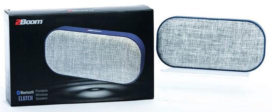 2Boom Clutch Portable Bluetooth Speaker (Blue)