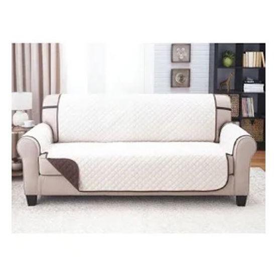 "Microfiber 2 Seater Sofa Cover - 76X88"" - Tan"