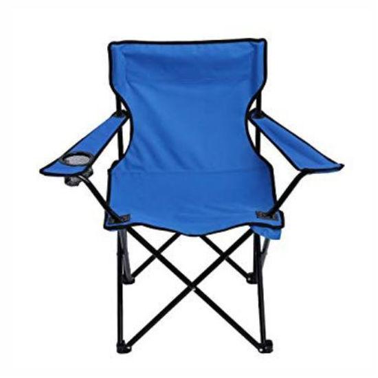 Fold-Up Camping Chair W/ Bag 50Cm X 50Cm X 80Cm