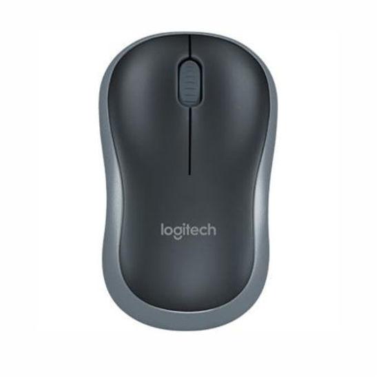 Logitech M185 Wireless Mouse (Black)