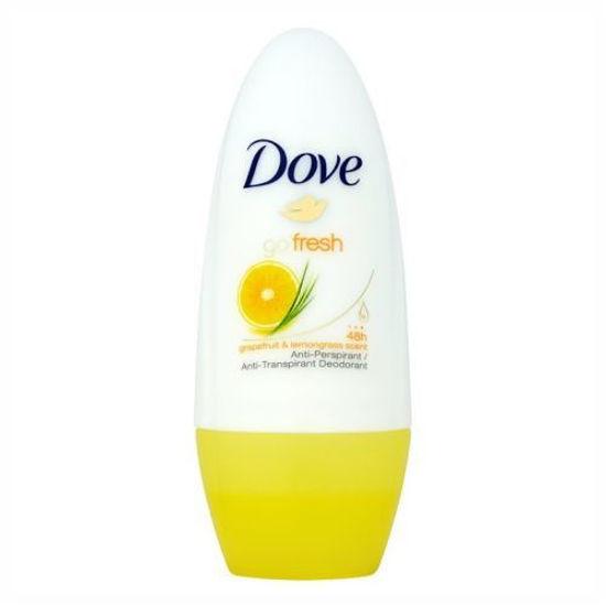 Dove Roll On Anti-Perspirant 50Ml-Grapefruit & Lemongrass