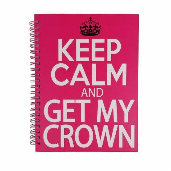 Keep Calm & Get My Crown On Journal-100 Sheet