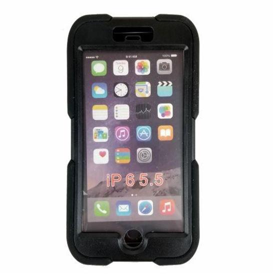 Xtreme Survival Protective Case F/Iphone 6/6S Plus (Black)