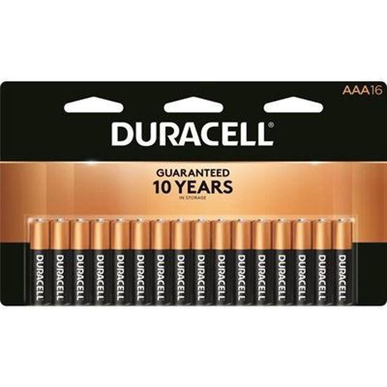 Duracell Coppertop Alkaline Batteries, Aaa, 16Pk