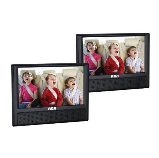 """Rca Drc79982e 9"""" Dual Screen Portable Dvd Player"""