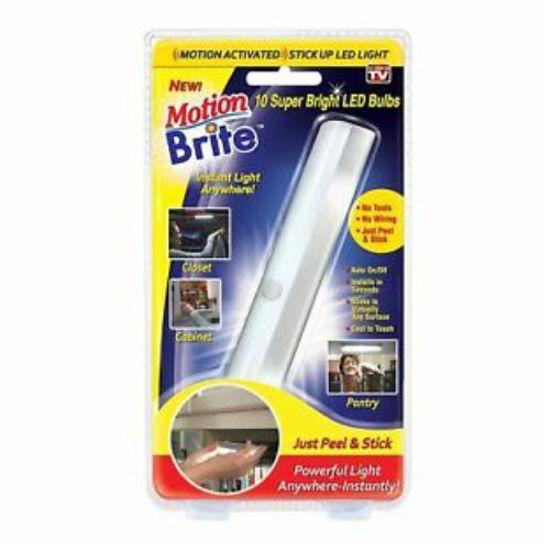 As Seen On Tv Motion Brite Led Bulbs