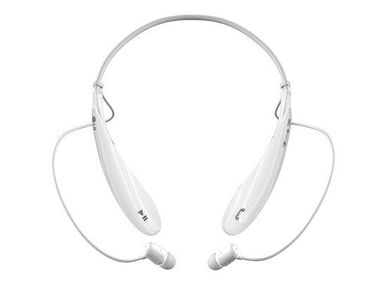 Lg Tone Ultra Hbs-800 Bluetooth Stereo Headset, White