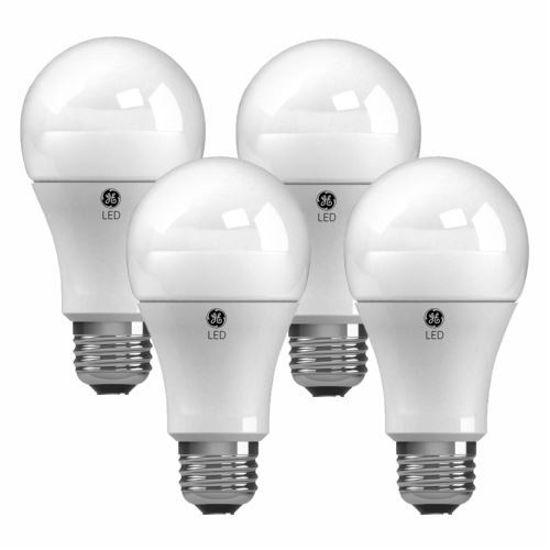 Ge Led Soft White 2700K 10/60W A19 Bulbs - 4 Pack