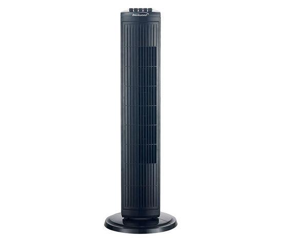 "Brentwood 30"" Oscillating Tower Fan - Black"