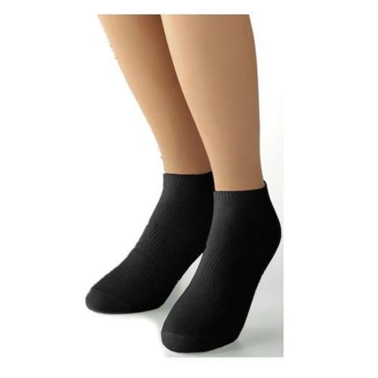 Dockers Men's 6Pk No Show Sock Size 10-13-Black