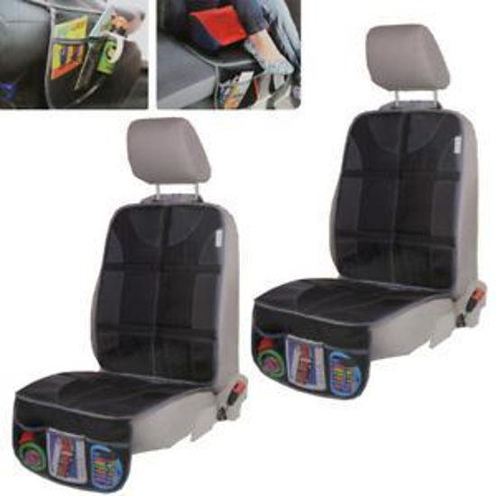 Car Seat Protector W/ Organizer Cover 2Pk