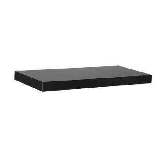 "Gallery Solutions 24"" Floating Shelf  - Black"