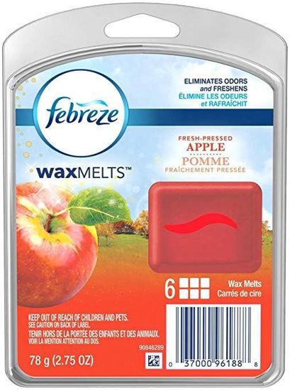 Febreze Wax Melts Fresh Pressed Apple 78G - 6Ct