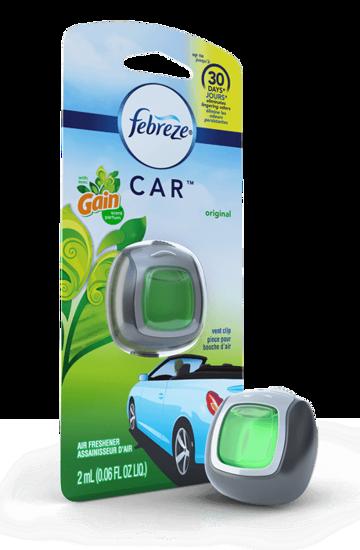 Febreze Car Freshener-Original With Gain-.06Z